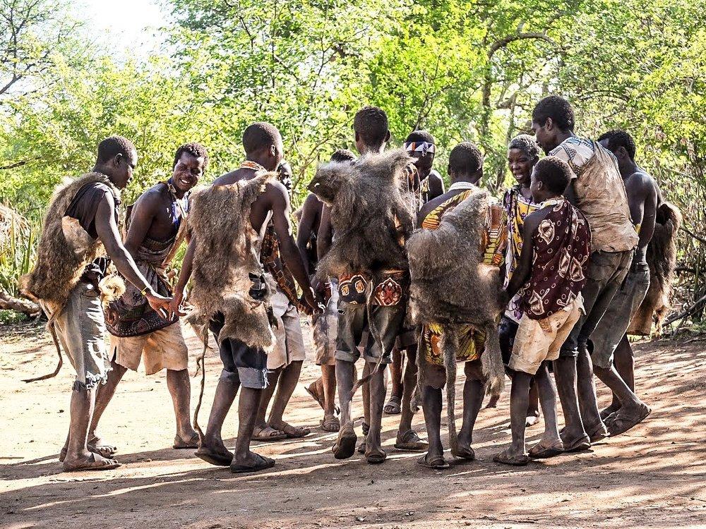 Hadzabe Bushmen